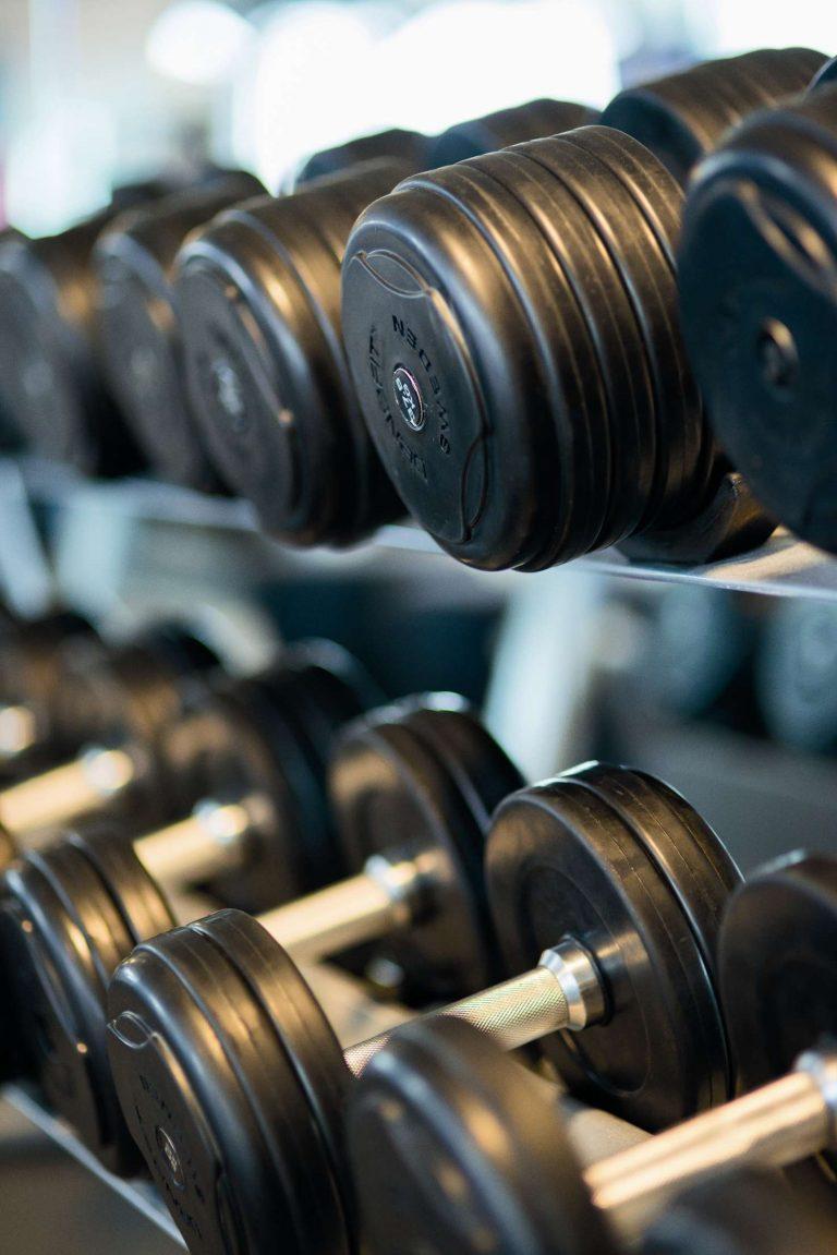 Gym Dumbbells Fitness training Mississauga