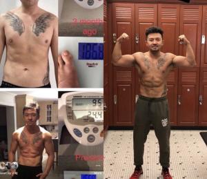Men Body Transformation