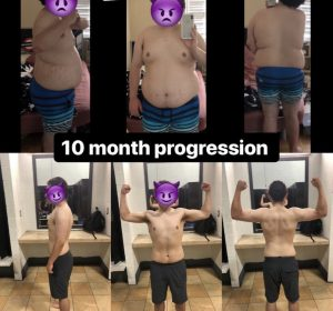 10 Month Progression Training With No Limits