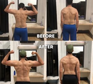 Before and After Results Training With No Limits