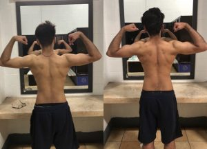 Transformation of Body in Training With No Limits